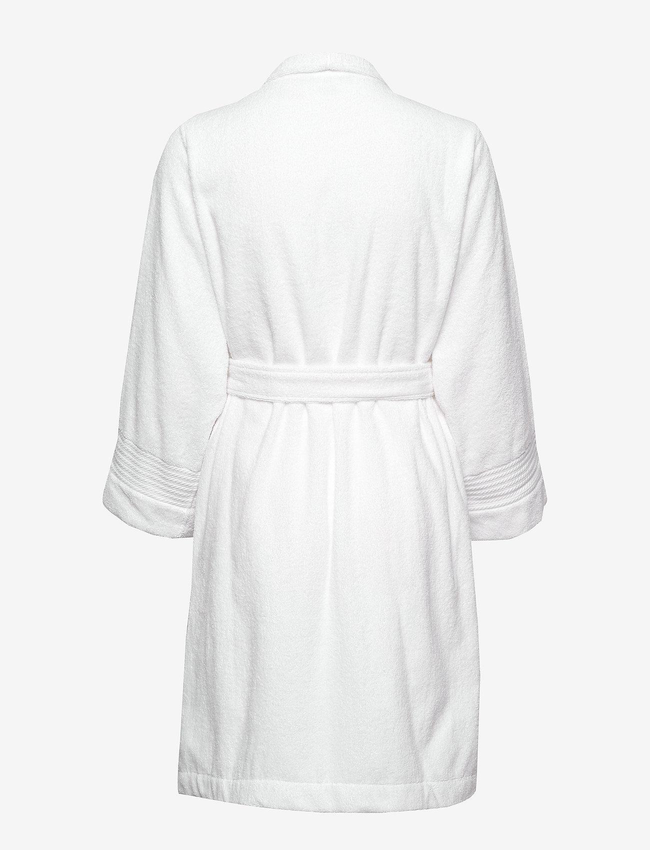 Lauren Ralph Lauren Homewear - LRL ESSENTIAL THE GREENWICH ROBE - morgenkåper - white