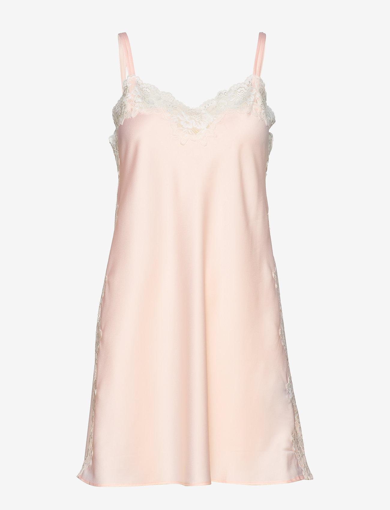 Lauren Ralph Lauren Homewear - LRL SIGNATURE LACE CHEMISE - natkjoler - pink - 0