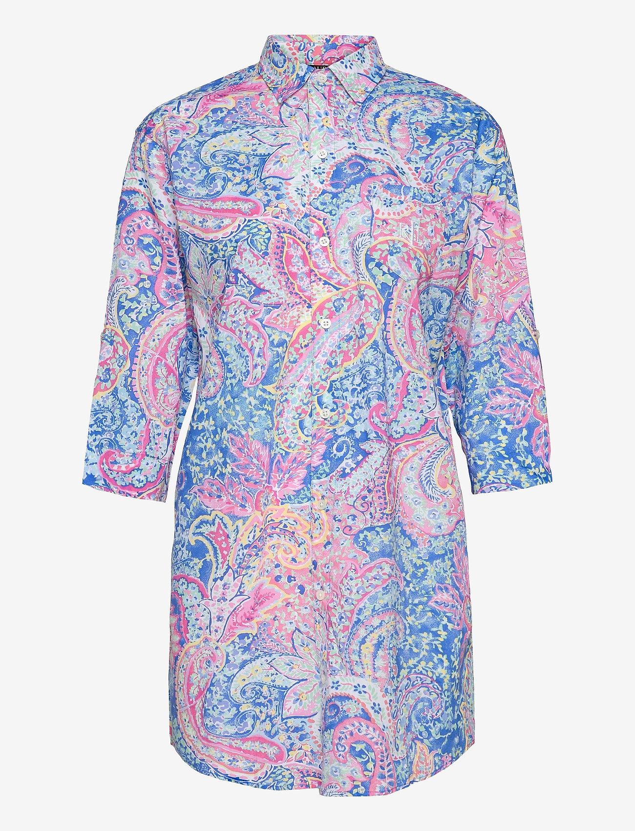 Lauren Ralph Lauren Homewear - LRL ROLL TAB HIS SLEEPSHIRT - natkjoler - multi paisley - 0