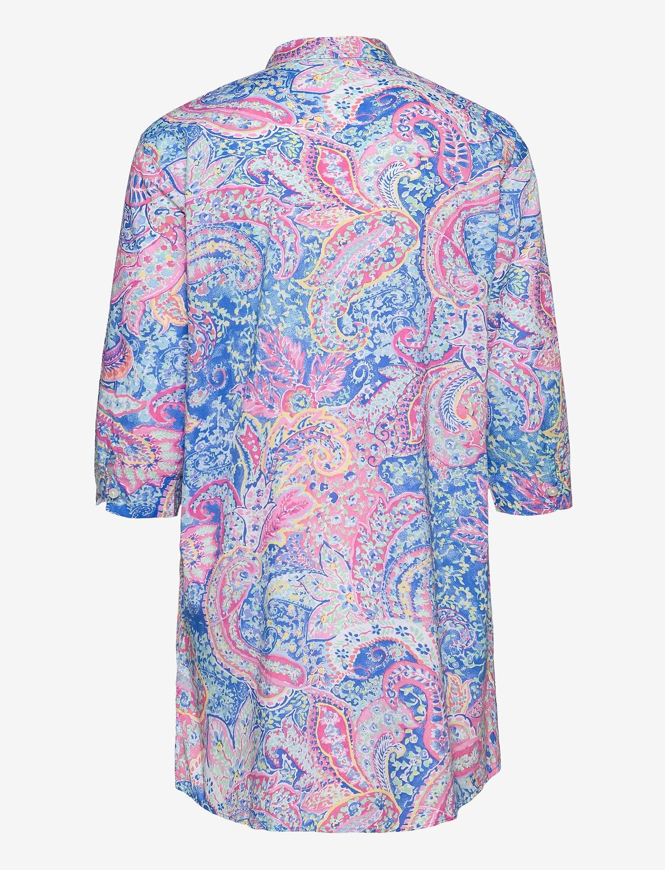 Lauren Ralph Lauren Homewear - LRL ROLL TAB HIS SLEEPSHIRT - natkjoler - multi paisley - 1