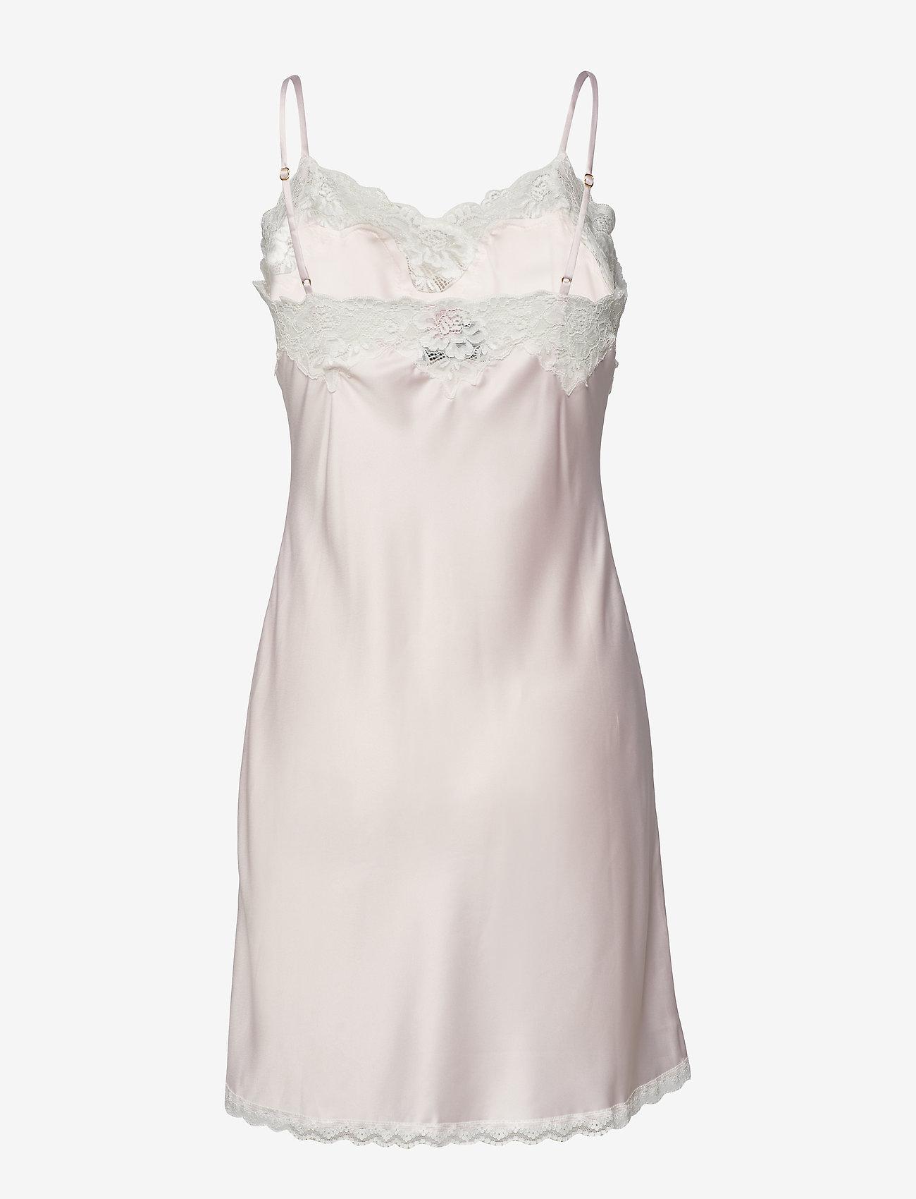 Lauren Ralph Lauren Homewear - LRL SIGNATURE LACE CHEMISE - bodies & slips - pink