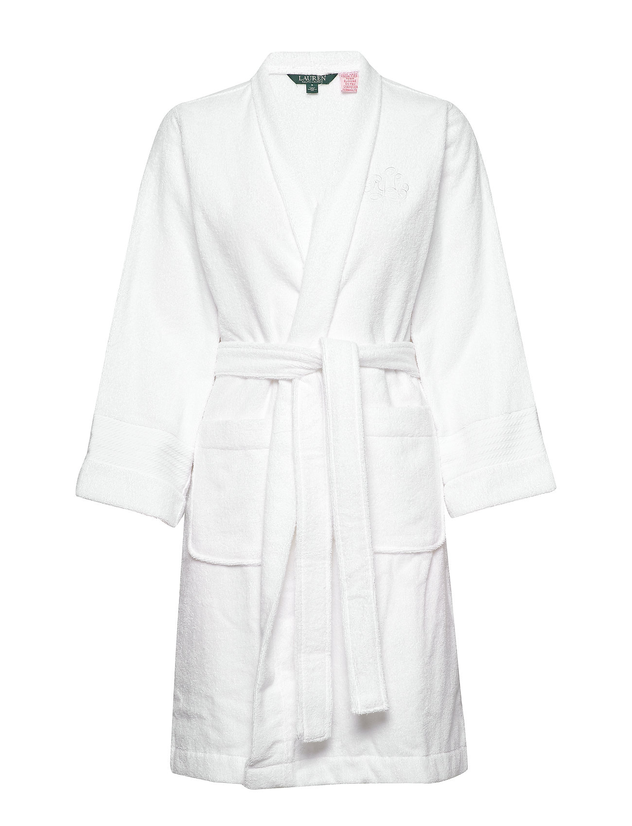 Lauren Ralph Lauren Homewear LRL ESSENTIAL THE GREENWICH ROBE - WHITE