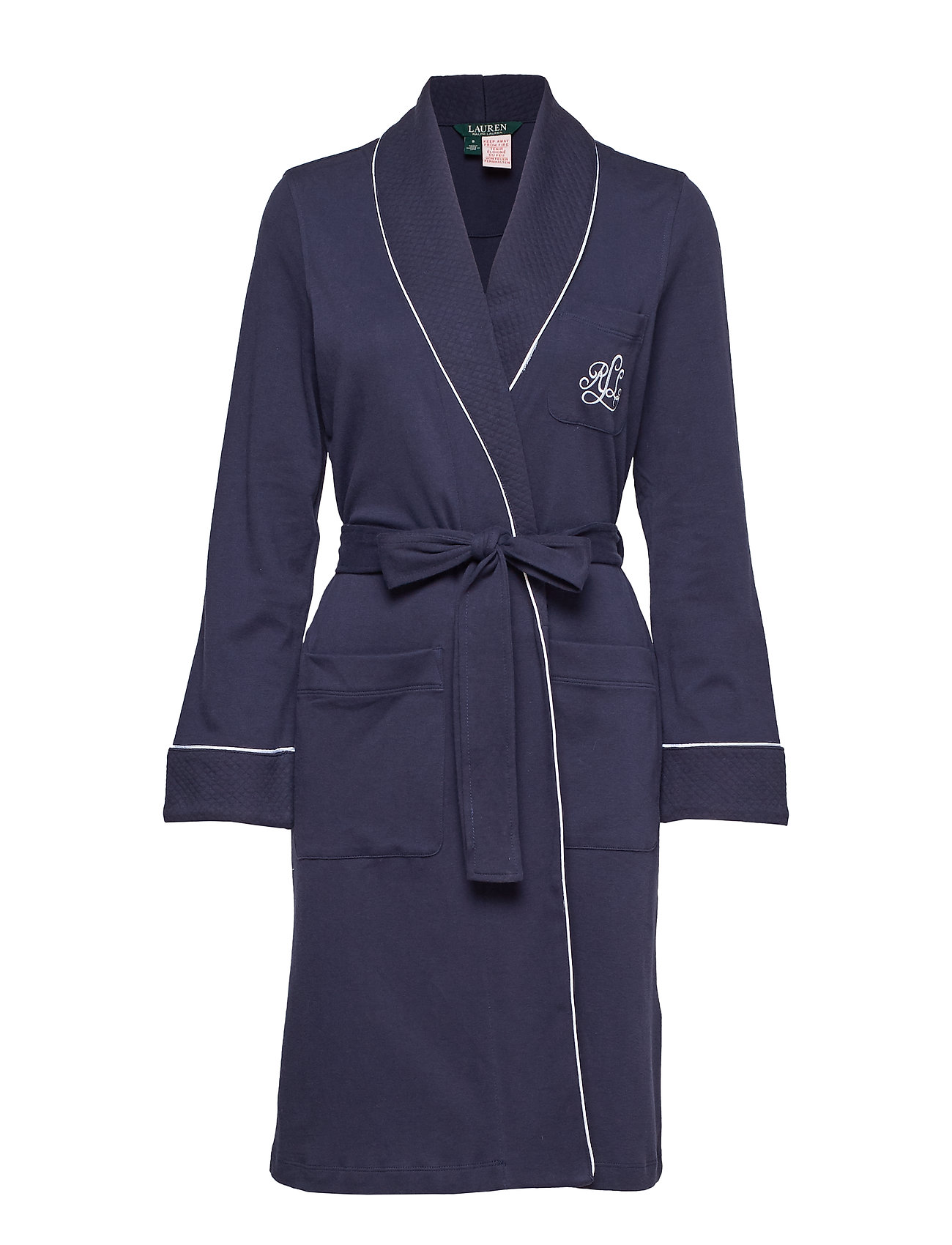 Essential Robenavy Homewear Lrl Collar WindsorLauren Quilted Ralph wkZTPXliOu