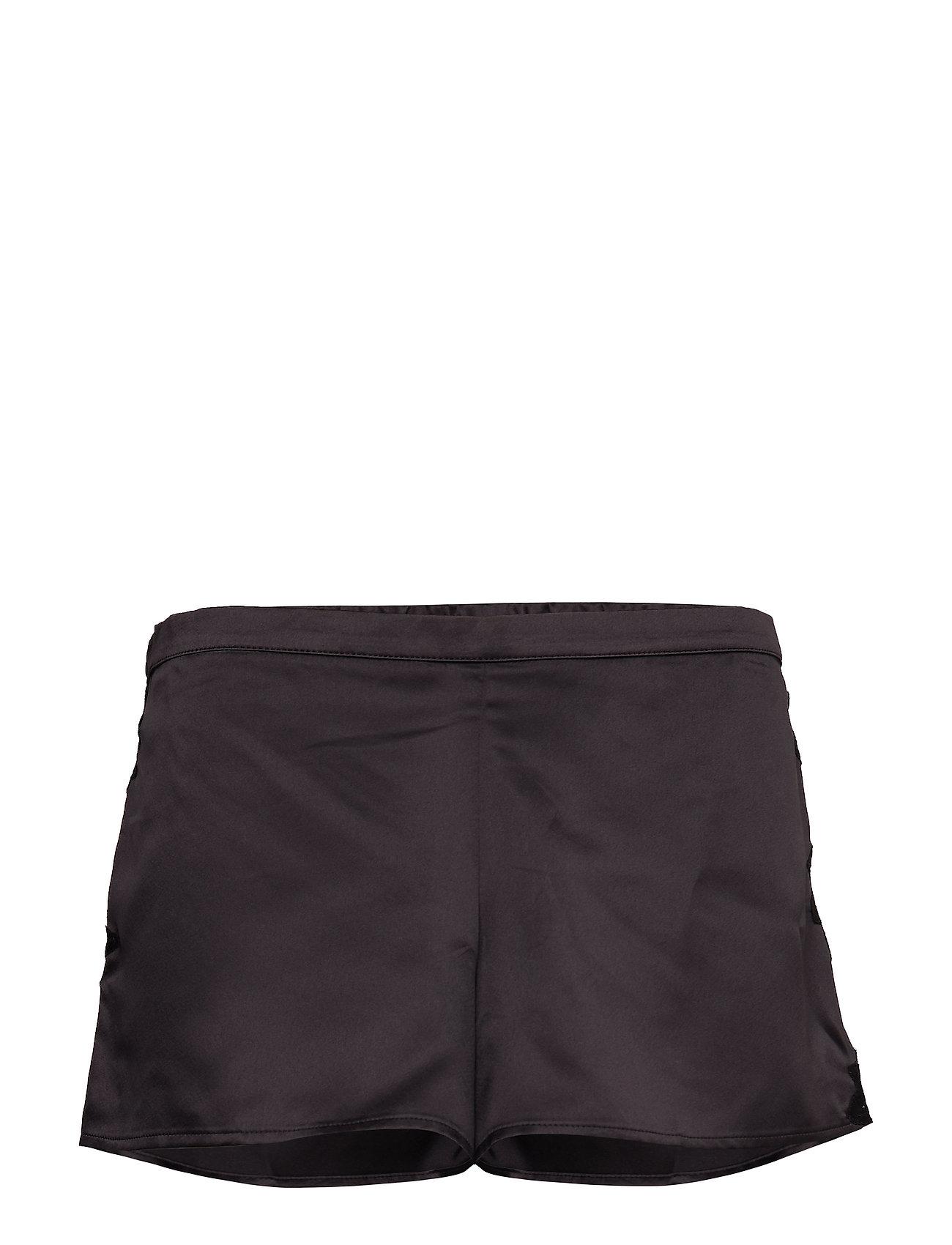 Lauren Ralph Lauren Homewear - LRL SIGNATURE LACE CAMI TOP SET - pyjama''s - black - 0