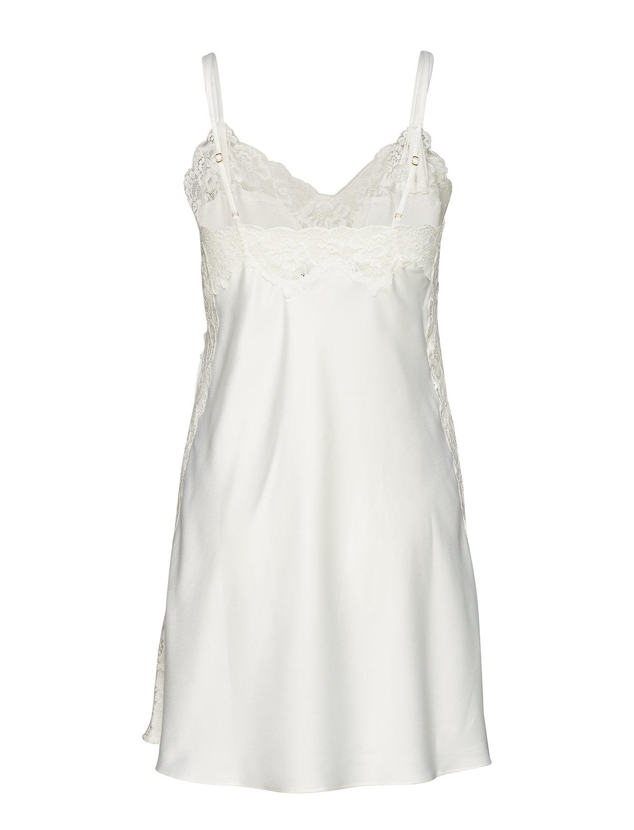 Lauren Ralph Lauren Homewear - LRL SIGNATURE LACE CHEMISE - nachtjurken - ivory - 1