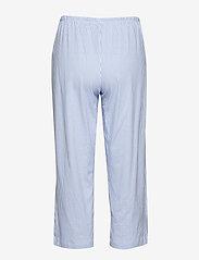 Lauren Ralph Lauren Homewear - LRL HERITAGE 3/4 SL CLASSIC NOTCH PJ SET - pyjama''s - french blue/white stripe - 3