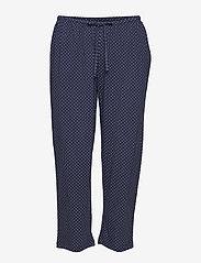 Lauren Ralph Lauren Homewear - LRL HERITAGE 3/4 SL CLASSIC NOTCH PJ SET - pyjama''s - windsor navy/white dot - 2