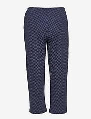 Lauren Ralph Lauren Homewear - LRL HERITAGE 3/4 SL CLASSIC NOTCH PJ SET - pyjama''s - windsor navy/white dot - 3