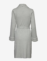 Lauren Ralph Lauren Homewear - LRL ESSENTIAL QUILTED COLLAR ROBE - pegnoirs - grey heather - 1