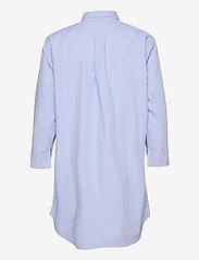 Lauren Ralph Lauren Homewear - LRL HERITAGE ESS. 3/4 SL SLEEPSHIRT - overdele - french blue/white - 1
