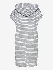 Lauren Ralph Lauren Homewear - LRL DROP SHOULDER HOODED ZIP LOUNGER - natkjoler - grey stripe - 1