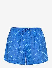 Lauren Ralph Lauren Homewear - LRL NOTCH COLLAR PJ BOXER SET S/SL - pyjamas - blue dot - 2