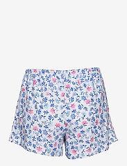 Lauren Ralph Lauren Homewear - LRL NOTCH COLLAR PJ BOXER SET S/SL - pyjamas - white/blue - 3