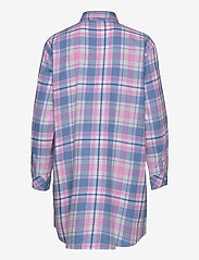Lauren Ralph Lauren Homewear - LRL  HIS SHIRT  SLEEPSHIRT - overdele - pink plaid - 1