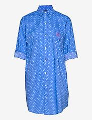 Lauren Ralph Lauren Homewear - LRL ROLL TAB HIS SLEEPSHIRT - natkjoler - blue dot - 2