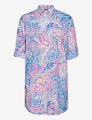 Lauren Ralph Lauren Homewear - LRL ROLL TAB HIS SLEEPSHIRT - natkjoler - multi paisley - 2