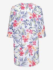 Lauren Ralph Lauren Homewear - LRL FLUTE SLV SPLIT BUTTON DOWN SL.SHIRT LG - natkjoler - lg floral - 1