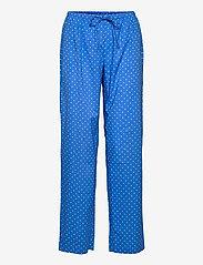 Lauren Ralph Lauren Homewear - LRL NOTCH COLLAR PJ SET 3/4 SL - pyjamas - blue dot - 2