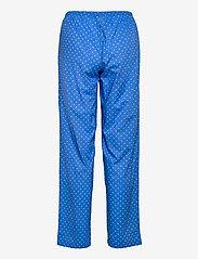 Lauren Ralph Lauren Homewear - LRL NOTCH COLLAR PJ SET 3/4 SL - pyjamas - blue dot - 3