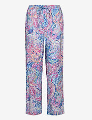 Lauren Ralph Lauren Homewear - LRL NOTCH COLLAR PJ SET 3/4 SL - pyjamas - multi paisley - 2