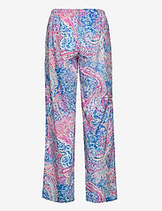 Lauren Ralph Lauren Homewear - LRL NOTCH COLLAR PJ SET 3/4 SL - pyjamas - multi paisley - 3