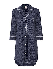 LRL HERITAGE 3/4 SL CLASSIC NOTCH SLEEPS - WINDSOR NAVY/WHITE DOT