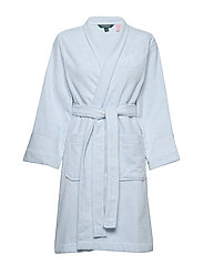 LRL ESSENTIAL THE GREENWICH ROBE - BLUE