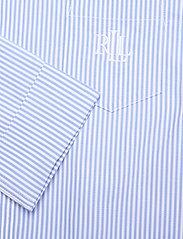 Lauren Ralph Lauren Homewear - LRL HERITAGE ESS. 3/4 SL SLEEPSHIRT - overdele - french blue/white - 3
