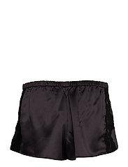 Lauren Ralph Lauren Homewear - LRL SIGNATURE LACE CAMI TOP SET - pyjama''s - black - 3