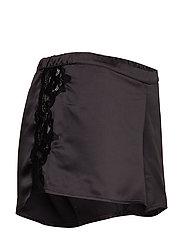 Lauren Ralph Lauren Homewear - LRL SIGNATURE LACE CAMI TOP SET - pyjama''s - black - 5
