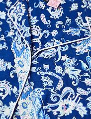 Lauren Ralph Lauren Homewear - LRL NOTCH COLLAR PJ BOXER SET S/SL - pyjamas - blue paisley - 4