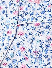 Lauren Ralph Lauren Homewear - LRL NOTCH COLLAR PJ BOXER SET S/SL - pyjamas - white/blue - 4