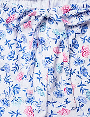Lauren Ralph Lauren Homewear - LRL NOTCH COLLAR PJ BOXER SET S/SL - pyjamas - white/blue - 5