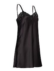 Lauren Ralph Lauren Homewear - LRL SIGNATURE LACE CHEMISE - natkjoler - black - 3