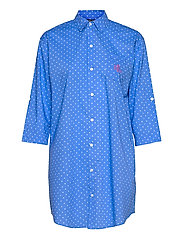 LRL ROLL TAB HIS SLEEPSHIRT - BLUE DOT