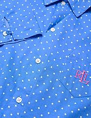 Lauren Ralph Lauren Homewear - LRL ROLL TAB HIS SLEEPSHIRT - natkjoler - blue dot - 3