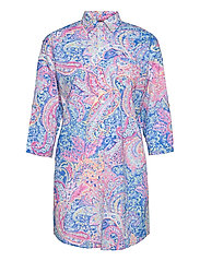 LRL ROLL TAB HIS SLEEPSHIRT - MULTI PAISLEY