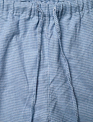 Lauren Ralph Lauren Homewear - LRL   NOTCH COLLAR LONG PANT PJ SET - pyjama''s - blue/white - 3