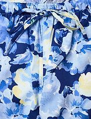 Lauren Ralph Lauren Homewear - LRL NOTCH COLLAR PJ SET 3/4 SL - pyjamas - blue floral - 3