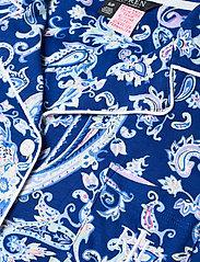 Lauren Ralph Lauren Homewear - LRL NOTCH COLLAR CAPRI PJ SET DOLMAN SL - pyjamas - blue paisley - 4