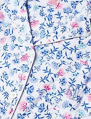 Lauren Ralph Lauren Homewear - LRL NOTCH COLLAR CAPRI PJ SET DOLMAN SL - pyjamas - white/blue - 4