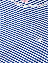 Lauren Ralph Lauren Homewear - LRL ROLL CUFF CAPRI PJ SET S/SL - pyjamas - blue stripe - 4
