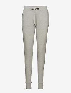 LRL FRENCH TERRY DRAWSTRING PANT - GREY HEATHER