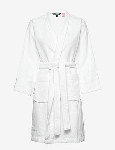 LRL ESSENTIAL THE GREENWICH ROBE - bedrok - white
