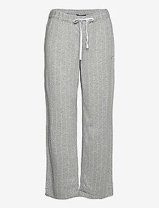 LRL SEPARATE LONG PANTS - underdeler - grey stripe