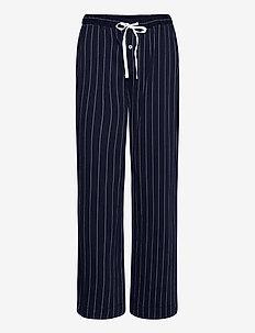 LRL SEPARATE LONG PANTS - underdeler - navy stripe