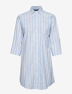 LRL ROLL TAP HIS SLEEPSHIRT - BLUE STRIPE