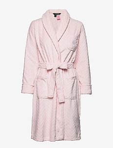 LRL SO SOFT SCULPTED ROBE PINK - PINK