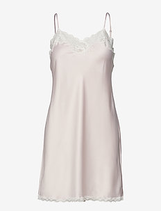 LRL SIGNATURE LACE CHEMISE - bodies & slips - pink