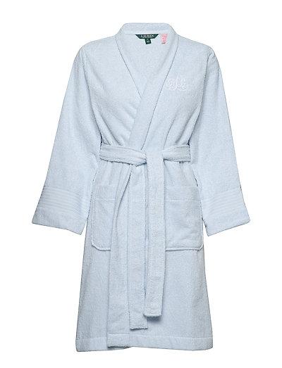 Lrl Essential The Greenwich Robe Bademantel Blau LAUREN RALPH LAUREN HOMEWEAR